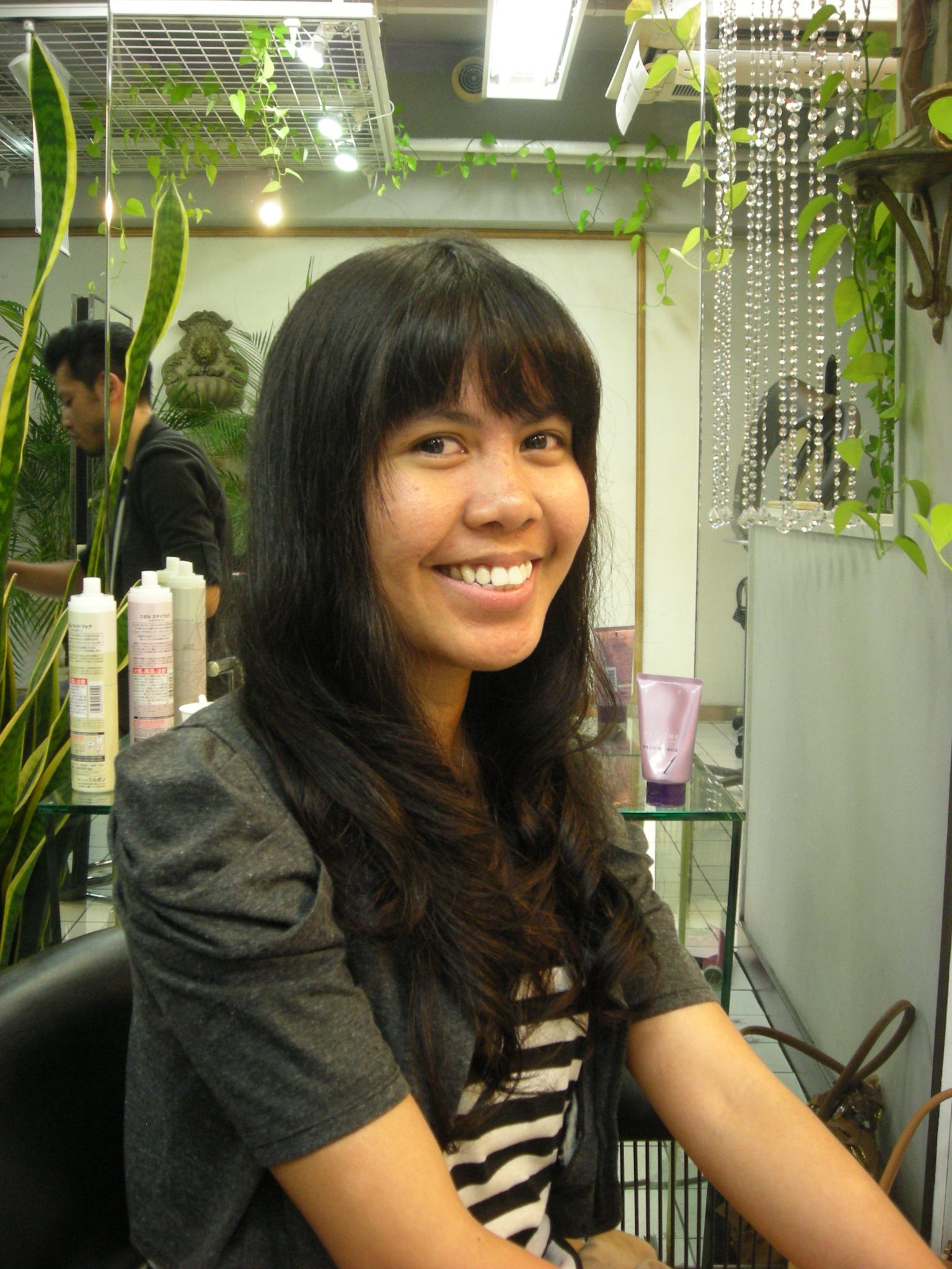 Digital Permanent Wave For Sheena English Speaking Hair