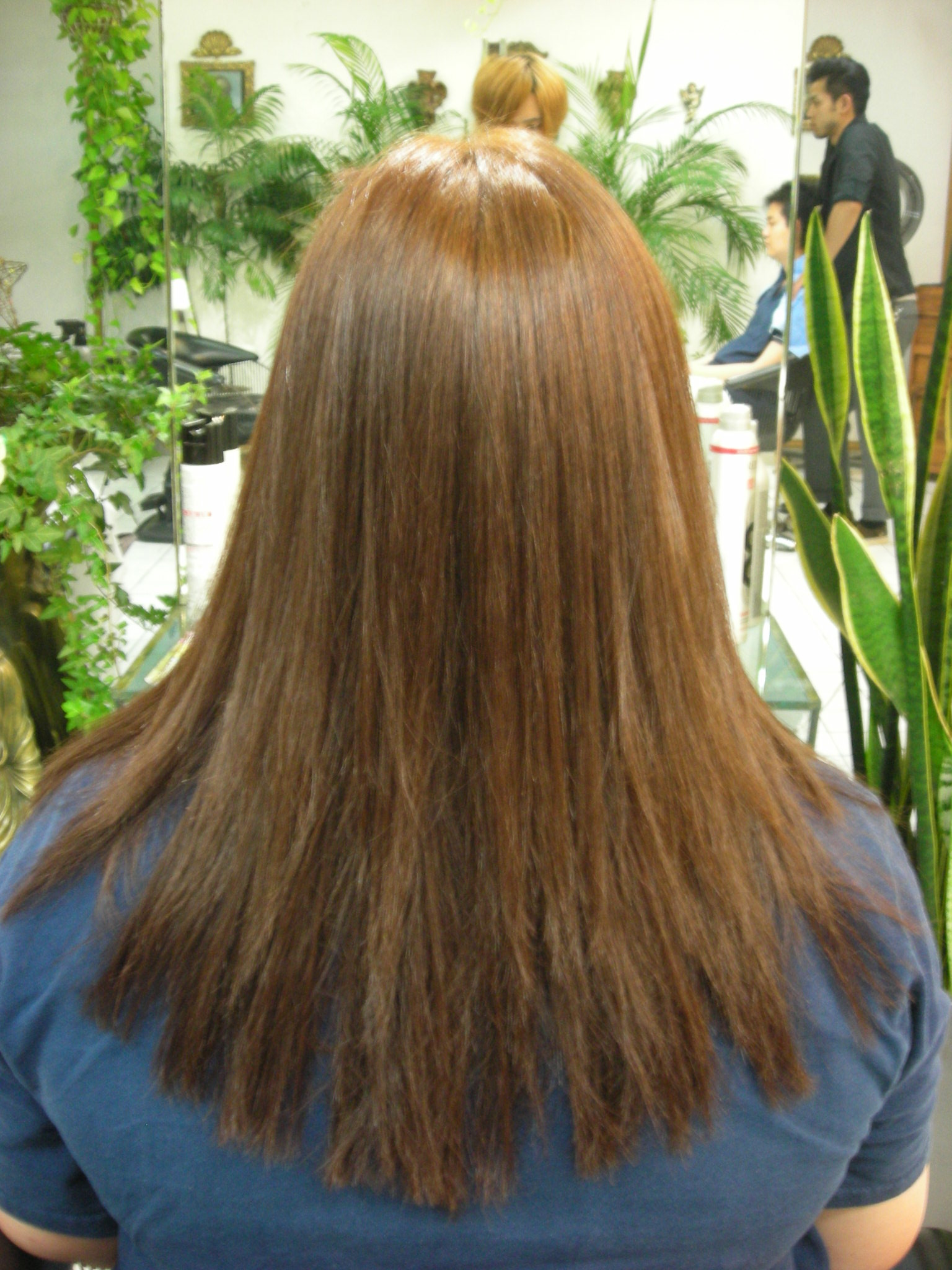 Japanese Hair Staightening Perm From Color Hair Salon