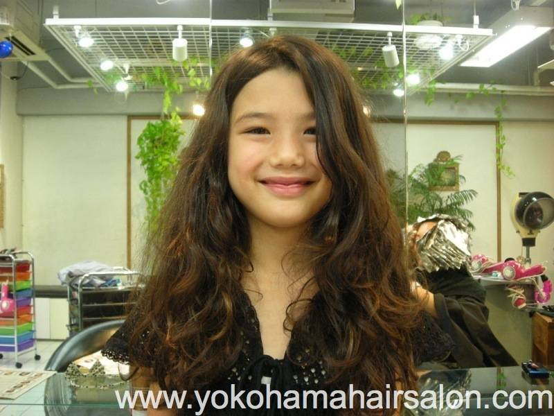 medium curly haircuts for with perms rena a princess with 4523